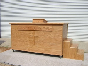 Portable Baptistry Deluxe Package