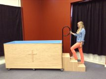 Portable Baptistry step 2