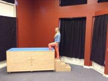 Portable Baptistry step 3
