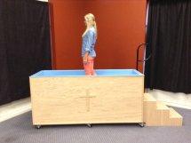 Portable Baptistry step 4