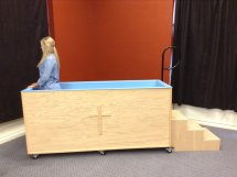 Portable Baptistry step 5