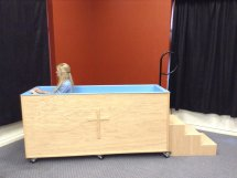 Portable Baptistry step 6