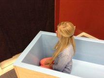 Portable Baptistry inside